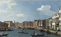Canaletto - Vue du canal de Santa Chiara, à Venise.jpg