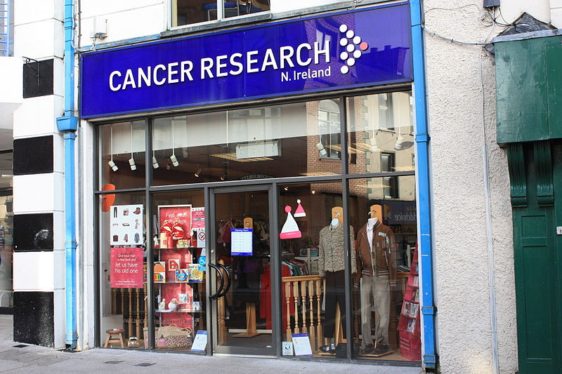 File:Cancer Research, Armagh, November 2009.JPG