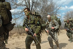 International military students train alongsid...