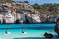 Canoeing near Cala Macarelleta (16394689686).jpg