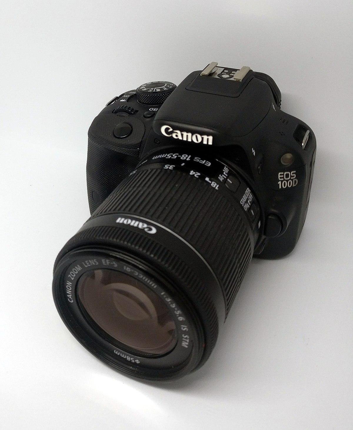Canon EOS 100D - Wikipedia
