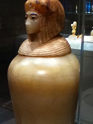 Canopic jar - Canopic jar, c. 1353-1336 B.C