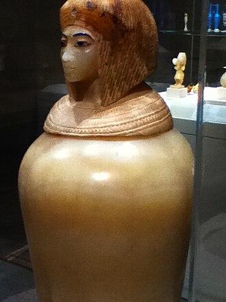 Canopic jar - Image: Canopic Jar Egypt