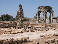 Conjunto romano de Cáparra