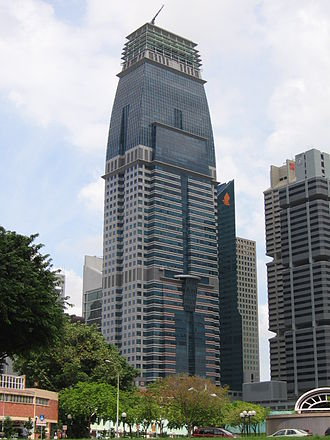 Capital Tower (Singapore) - Image: Capital Tower, Jan 06