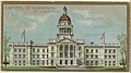 Capitol of Nebraska in Lincoln, from the General Government and State Capitol Buildings series (N14) for Allen & Ginter Cigarettes Brands MET DP834753.jpg
