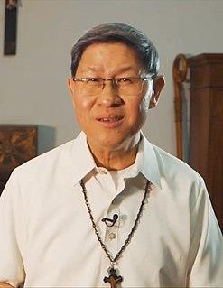 Luis Antonio Tagle 20th- and 21st-century Filipino Catholic cardinal