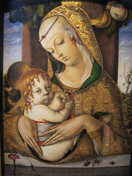 File:Carlo crivelli, madonna col bambino, V&A, 1480 ca. 02.JPG