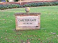 Carlton Gate road sign - geograph.org.uk - 1082392.jpg