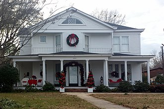 National Register of Historic Places listings in Chicot County, Arkansas - Image: Carlton House, Lake Village, AR 001