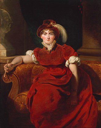 Caroline of Brunswick - Portrait by Sir Thomas Lawrence, 1804