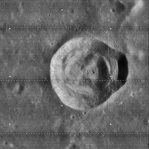Carrel (crater) - Image: Carrel LO4 085 h 2