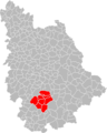 Carte de la Communauté de communes du Pays Gencéen.png