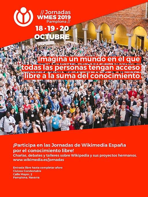Cartel Jornadas WMES 2019
