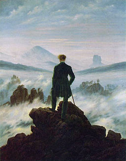 Caspar David Friedrich Wanderer above the Sea of Fog