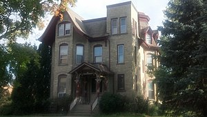 Waukesha, Wisconsin - The Casper M. Sanger House is one of sixty-seven sites in Waukesha listed on the National Register of Historic Places