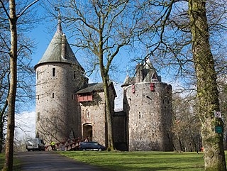 Castell Coch 19th-century Gothic Revival castle in Tongwynlais, Wales