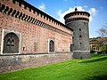 Castello Sforzesco torre di Nord-est by Lion Igaly.jpg
