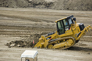 Digging demo with Caterpillar 963D