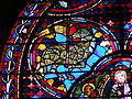 Cathédrale de Bourges - Vitrail de l'Apocalypse.JPG