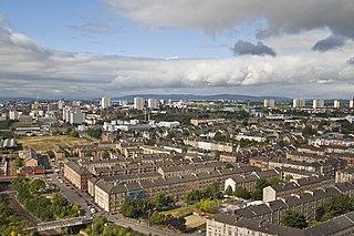 Dennistoun district of the city of Glasgow, Scotland
