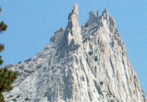 Richard M. Leonard - Eichorn Pinnacle on Cathedral Peak, which Leonard was one of the first to ascend.