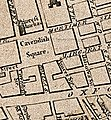 Cavendish Square and environs, 1764.jpg