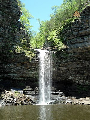 Arkansas - Cedar Falls in Petit Jean State Park