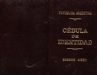 <i>Cédula de identidad</i>