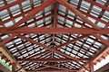 Ceiling of the Creasyville Covered Bridge.JPG