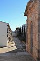 Cementeri vell de Xàbia, carrer i panteó.JPG