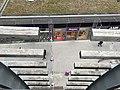 Centre commercial du Carré de Soie - allée vue de haut.JPG