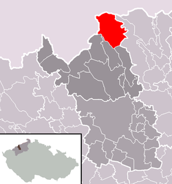 Location in Most District