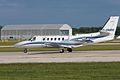Cessna Citation 550 Bravo G-OMRH (5808758138).jpg