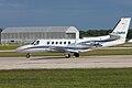 Cessna Citation 550 Bravo G-OMRH (5808758138).jpg