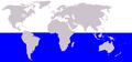Cetacea range map Antarctic Minke Whale.png