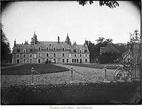 Château d'Escorpain Eure-et-Loir France par Gustave William Lemaire 1900-1920.JPG