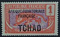 Chade sobrecarga TCHAD e AEF 1924 1c.JPG