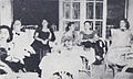 Chaitir Harro, Mien Sondakh, Fifi Young, Titien Sumarni, Sofia at PPFI Launch Dunia Film 1 Sep 1954 p9.jpg