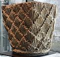 Chapiteau de pilastre à décor de palmettes Abbaye de Beaulieu, Angoulême.JPG