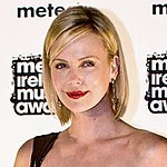 Charlize Theron at Meteor Ireland Music Awards 2008 (square)