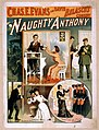 Chas. E. Evans in David Belasco's comedy, Naughty Anthony LCCN2014636670.jpg
