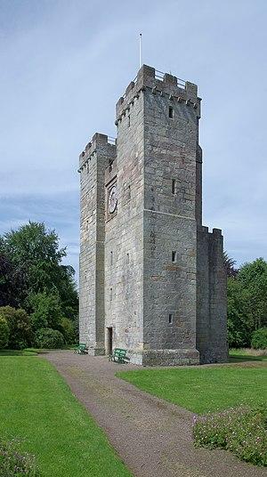 Preston Tower (Northumberland) - Image: Chathill MMB 11 Preston Tower
