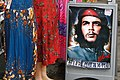 Che Guevara Poster alongside Traditional Kurdish Dresses - Market in Hasan Pasa Hani - Diyarbakir - Turkey (5777312595).jpg