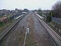 Cheam station high westbound.JPG