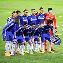 0051255b8 Chelsea s starting eleven against Maribor in the UEFA Champions League.
