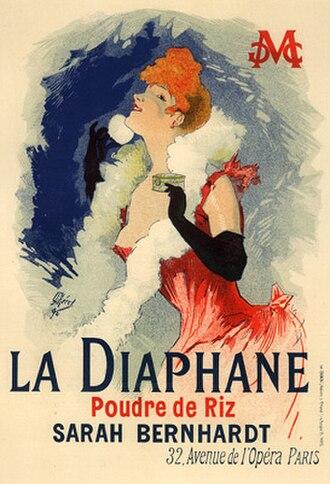 Rice flour - Image: Cheret, Jules La Diaphane (pl 121)