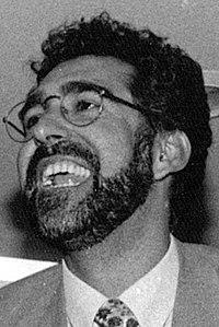 Chesús Bernal en la noche electoral de 1995.jpg