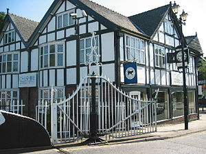 Cheshire Building Society - Branch of the Cheshire Building Society in Northwich.