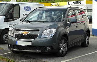Chevrolet orlando d'occasion